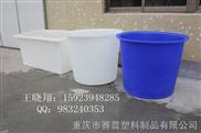 重庆敞口圆桶厂家-赛普塑料圆桶(200升塑料桶)