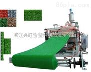 地毯二手高速塑料拉丝机