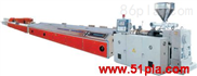 塑料異型材生產線設備擠出機組機器塑料機械