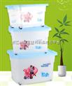 健力透明塑料箱 14、45、45升塑料箱连盖有内隔 榨水车配件