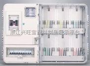 单相6表位PC/ABS防阻燃材质透明塑料电表箱厂家批发