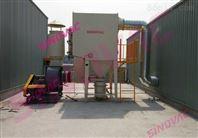 塑料管材切割中央集尘系统粉尘处理设备