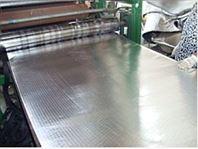 单面贴铝箔橡塑保温板隔音效果,B1级橡塑保温板施工方案