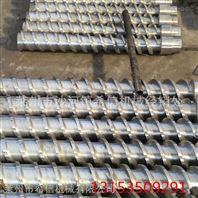 各型号螺杆料筒      塑料造粒机械 专业生产造粒主副机螺杆料筒