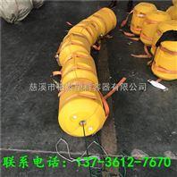 宿松穿钢丝绳浮筒塑料拦污排批发