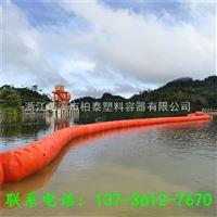 FT60*100拦污pe浮筒水电站拦截浮子价格