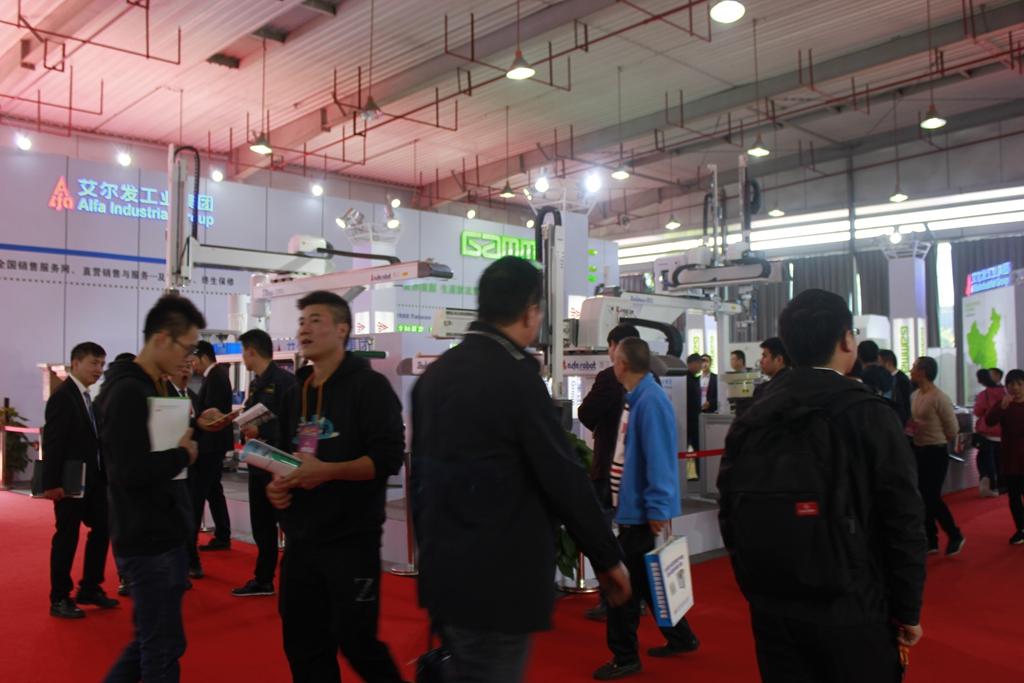 第十九届中国塑料博览会馆内部分剪影