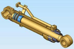 派克 活塞式双作用液压缸图片